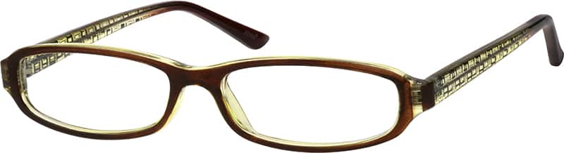 UnisexFull RimAcetate/PlasticEyeglasses #239021