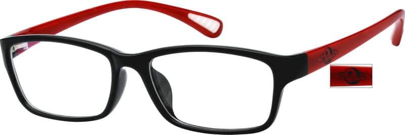 UnisexFull RimAcetate/PlasticEyeglasses #242121