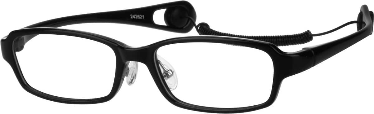 Boy Full Rim Acetate/Plastic Eyeglasses #242616