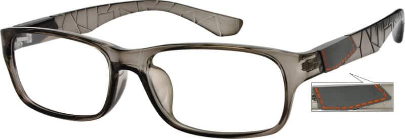 MenFull RimAcetate/PlasticEyeglasses #243536