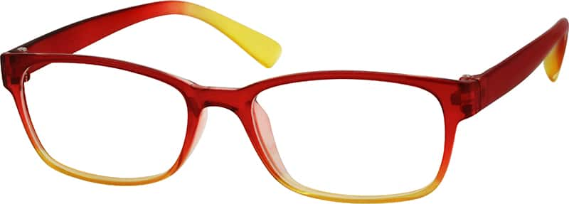 red yellow gradient glasses