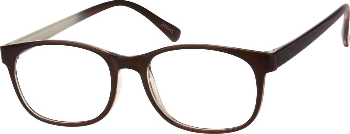 Women's Lightweight Oval Eyeglasses