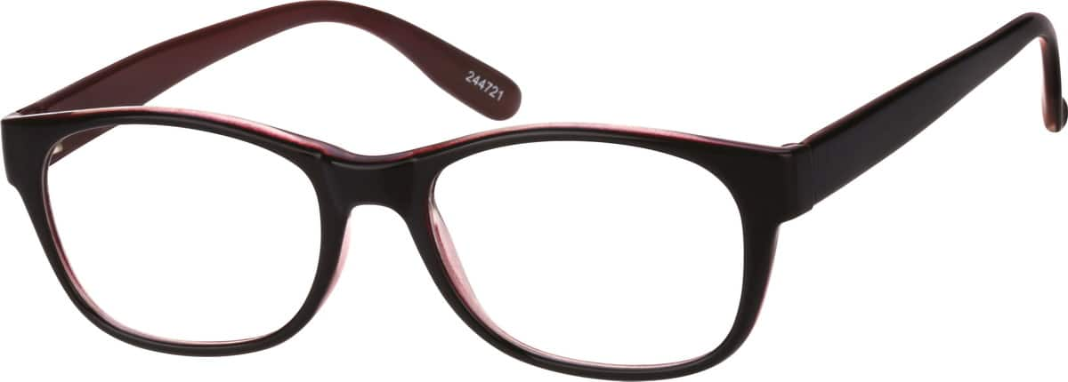 Large Oval Eyeglasses & Sunglasses