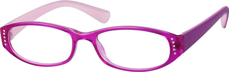 Stylish Plastic Full-Rim Frame