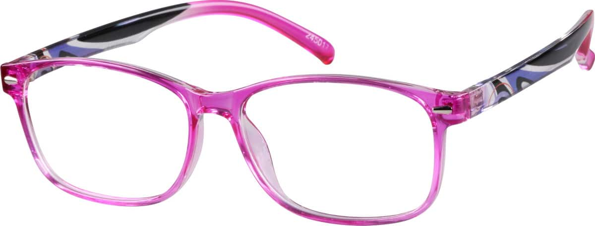 Thin Wayfarer Eyeglasses