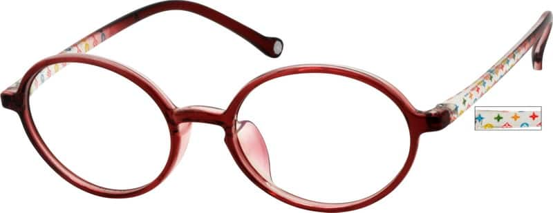 Girl Full Rim  Eyeglasses #245821