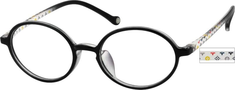 Girl Full Rim  Eyeglasses #245818
