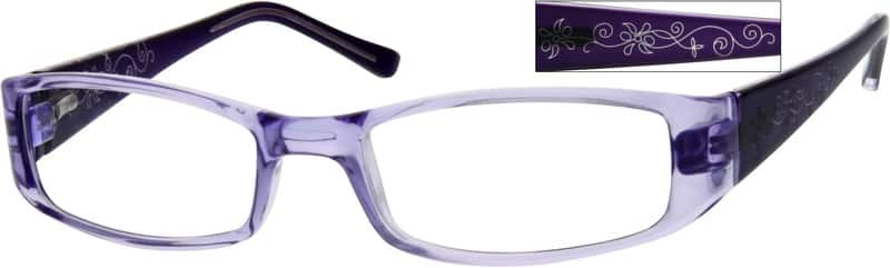 Women Full Rim Acetate/Plastic Eyeglasses #246118