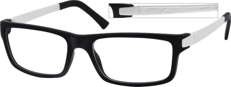 MenFull RimAcetate/PlasticEyeglasses #246221