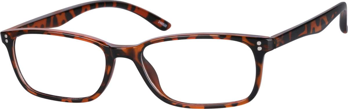 Smart-Looking Rectangular Eyeglasses