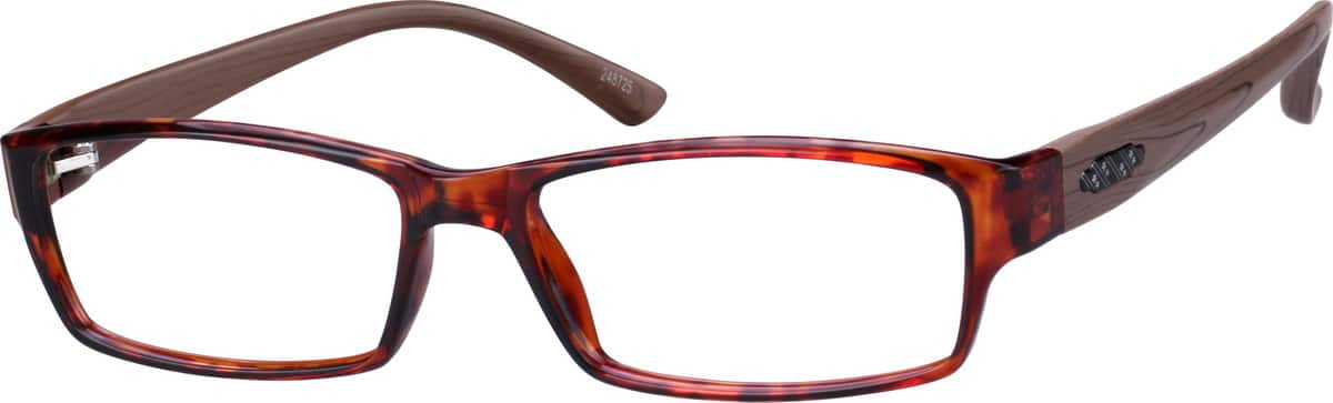Fashionable Rectangular Eyeglasses