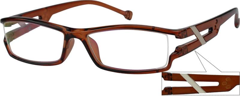 Men Full Rim Acetate/Plastic Eyeglasses #250821