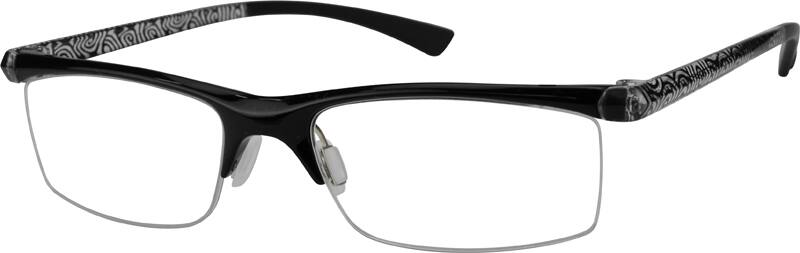 MenHalf RimAcetate/PlasticEyeglasses #251515