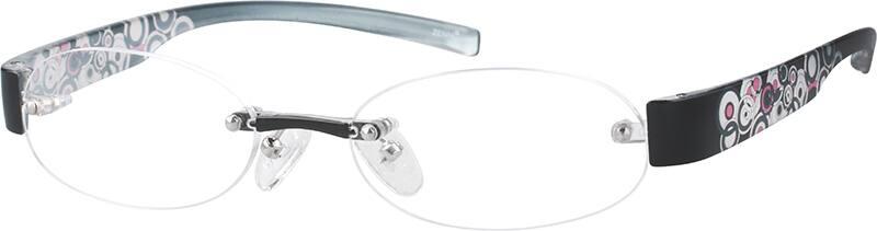 WomenRimlessAcetate/PlasticEyeglasses #251915