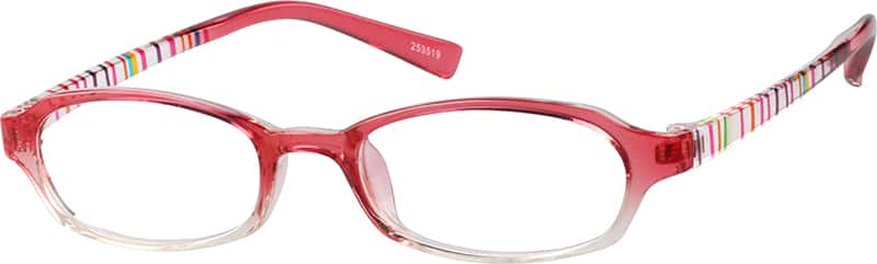 Children's Plastic Full-Rim Frame