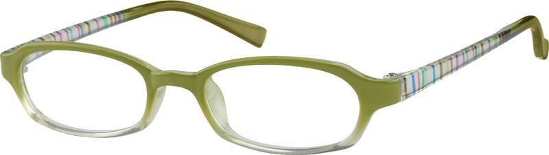 GirlFull RimAcetate/PlasticEyeglasses #253519