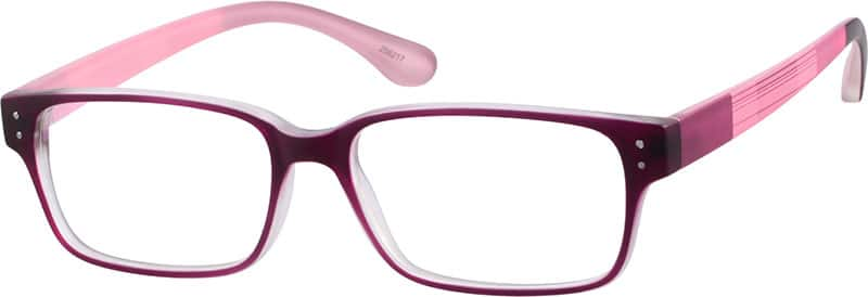 Women Full Rim Acetate/Plastic Eyeglasses #256221