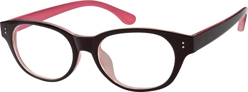 Women Full Rim Acetate/Plastic Eyeglasses #256325