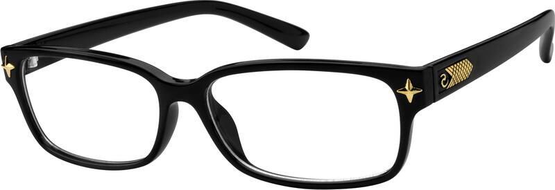 UnisexFull RimAcetate/PlasticEyeglasses #256821