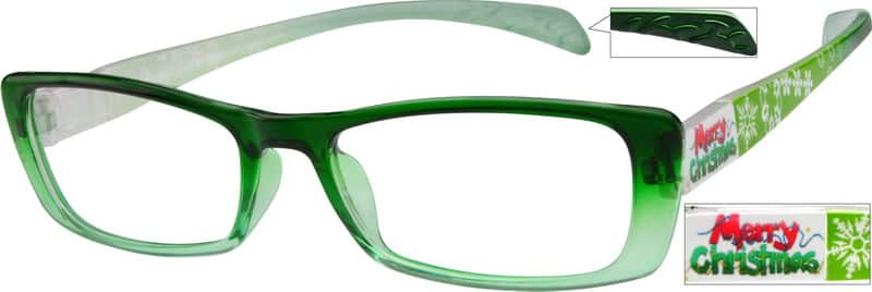 Women Full Rim Acetate/Plastic Eyeglasses #258924