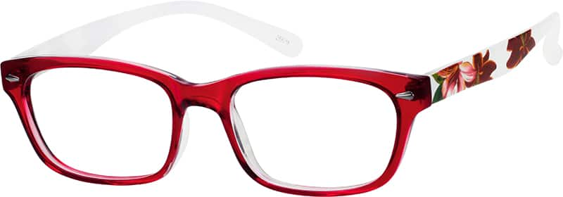 Women Full Rim Acetate/Plastic Eyeglasses #259321