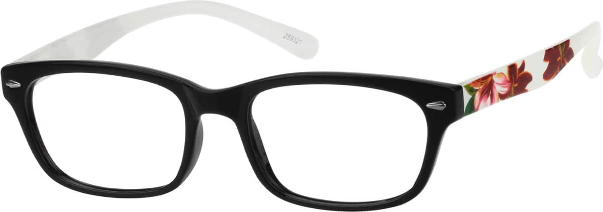 Women's Tropical Rectangle Eyeglasses