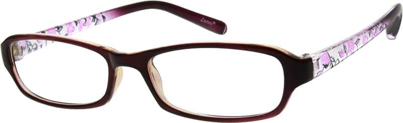 Women Full Rim Acetate/Plastic Eyeglasses #259617