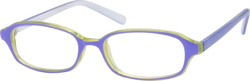 Blue Childrens Plastic Frame #2602 Zenni Optical Eyeglasses