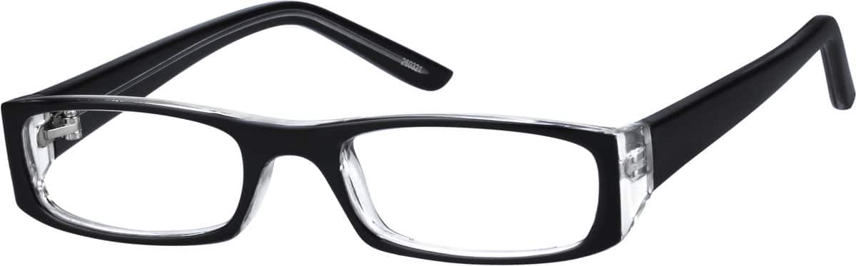 Black Childrens Plastic Frame #2603 Zenni Optical ...