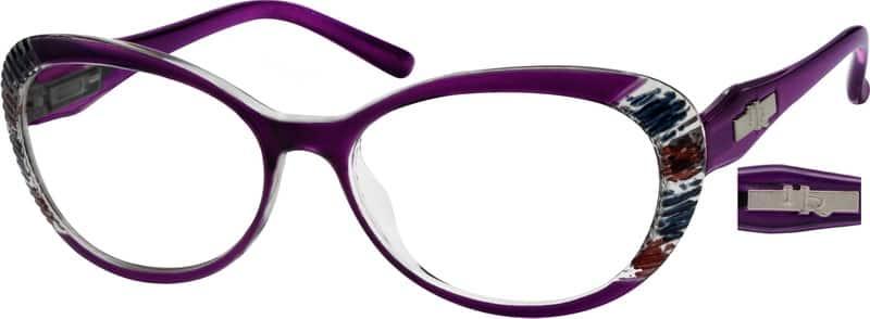 WomenFull RimAcetate/PlasticEyeglasses #260817