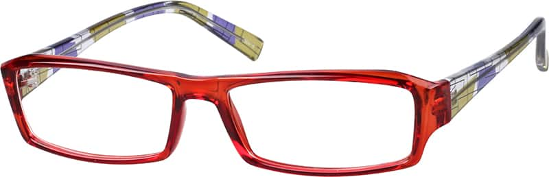 Women Full Rim Acetate/Plastic Eyeglasses #260922