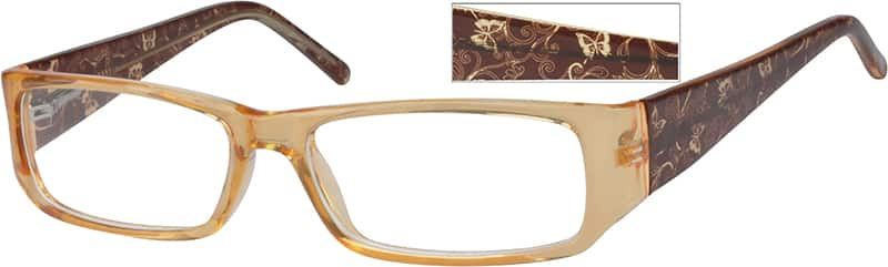 Women Full Rim Acetate/Plastic Eyeglasses #261922