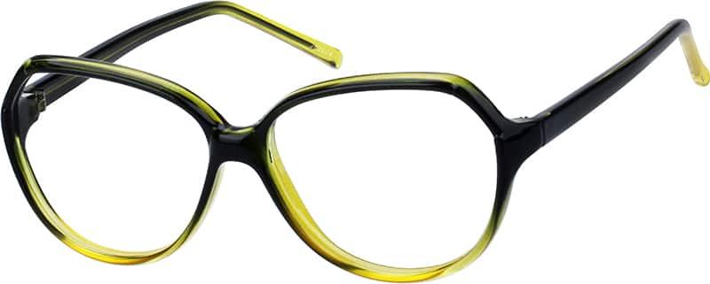 UnisexFull RimAcetate/PlasticEyeglasses #262024