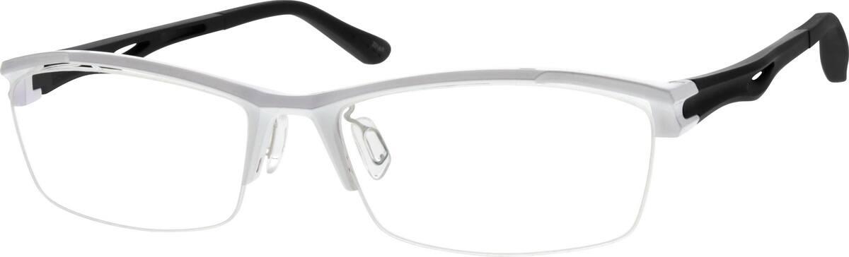 MenHalf RimAcetate/PlasticEyeglasses #262130