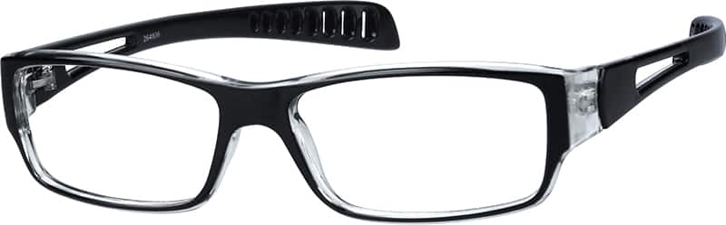 Sleek Rectangular Eyeglasses