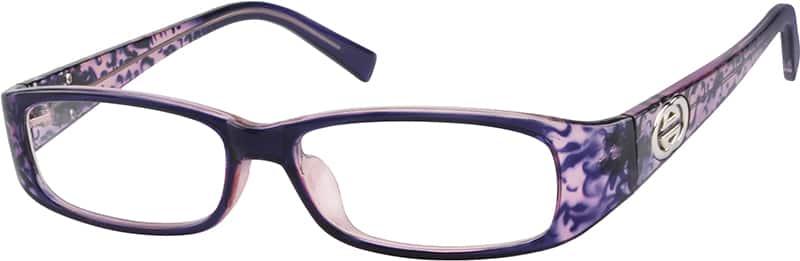 Eyeglass Frames Zenni : Purple Plastic Full-Rim Frame #2655 Zenni Optical Eyeglasses