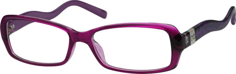 Women Full Rim Acetate/Plastic Eyeglasses #267317