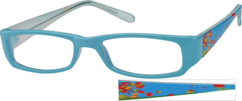 UnisexFull RimAcetate/PlasticEyeglasses #267616