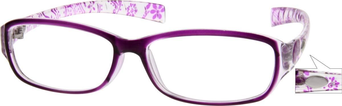 WomenFull RimAcetate/PlasticEyeglass