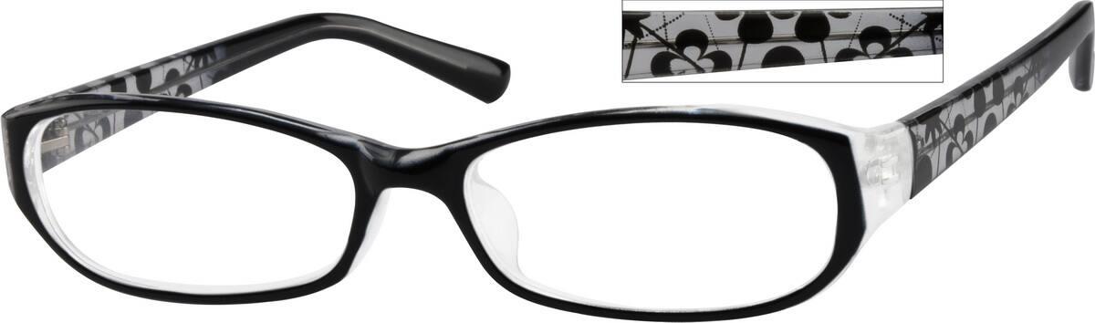 WomenFull RimAcetate/PlasticEyeglasses #268715