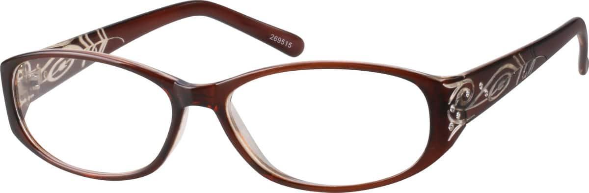 WomenFull RimAcetate/PlasticEyeglasses #269515