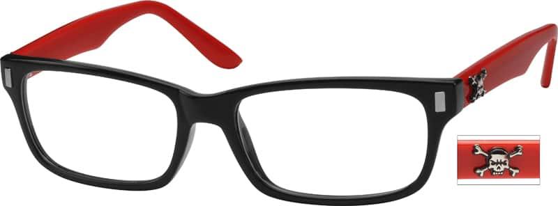 UnisexFull RimAcetate/PlasticEyeglasses #269816