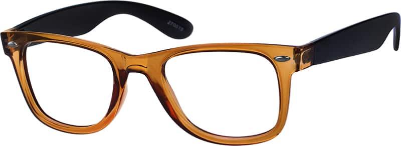 Orange2705 Plastic Full-Rim Frame