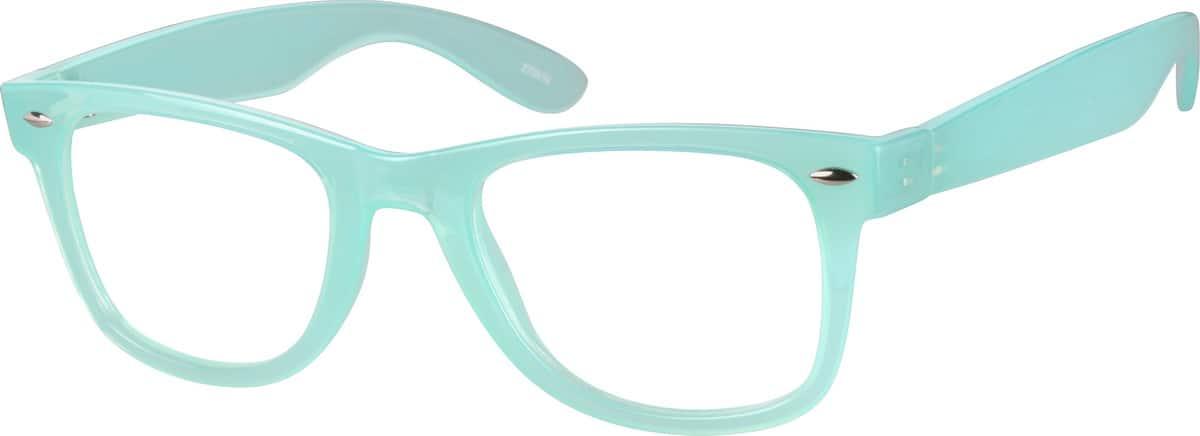 Blue2705 Plastic Full-Rim Frame