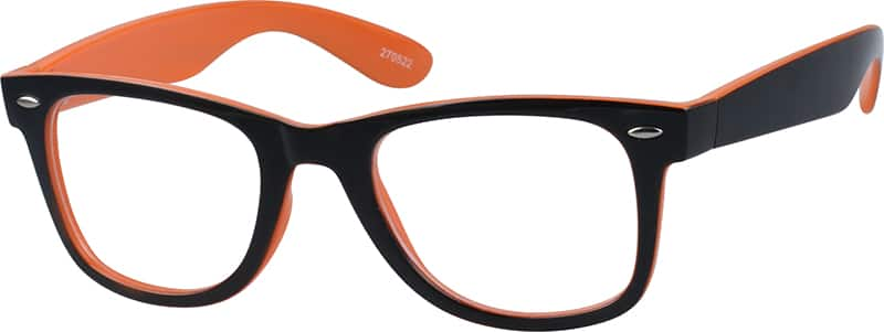 Classic Colorful Wayfarer Eyeglasses & Sunglasses