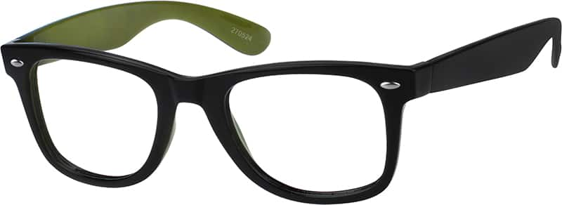 Classic Colorful Square Eyeglasses & Sunglasses