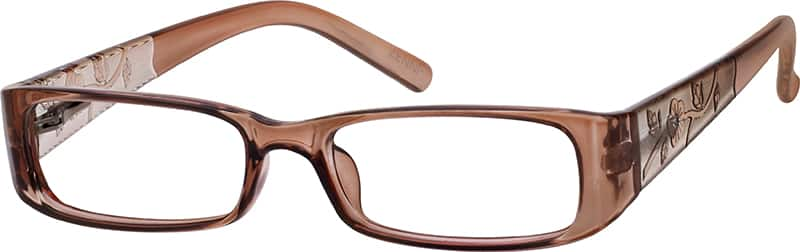 Girls' Floral-Motif Eyeglasses