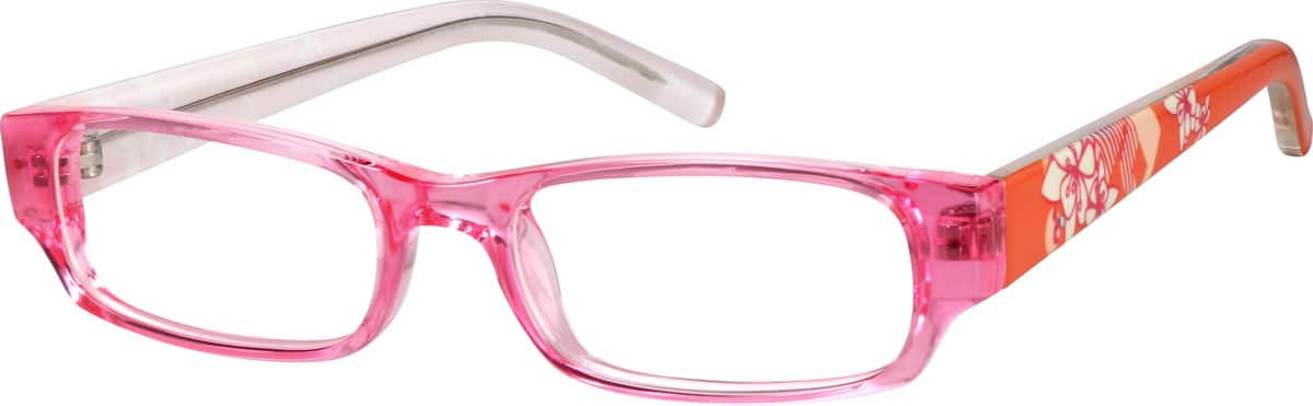 Girls' Rectangular Eyeglasses