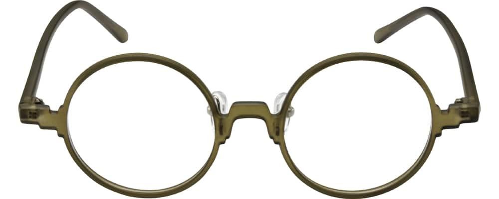 UnisexFull RimAcetate/PlasticEyeglasses #276925