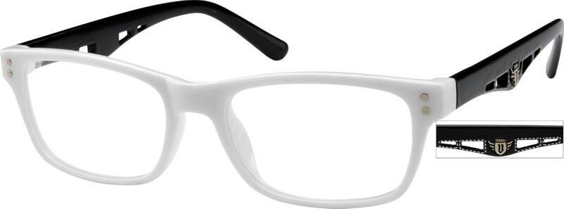 UnisexFull RimAcetate/PlasticEyeglasses #278216